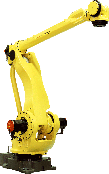 The M-410iB series is the ideal intelligent soution for automation of palletizing systems. The wide range of M-410iB robot variations make it suitable for any application and payload.