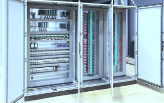 Automation atex regulation plc and barriers panel board