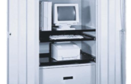 Computer storage mobile cabinet