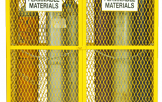 Flammable material safety storage