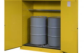 55 gallon drum storage cabinet