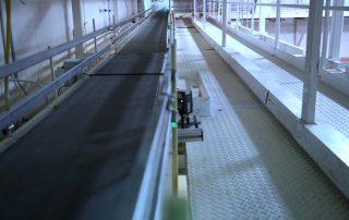 Hytrol Belt conveyor system