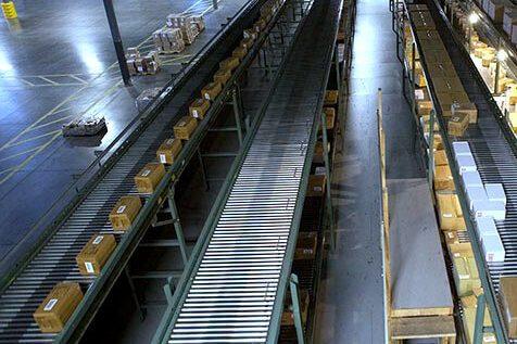 Hytrol Accumulation Zero Pressure Conveyor Line