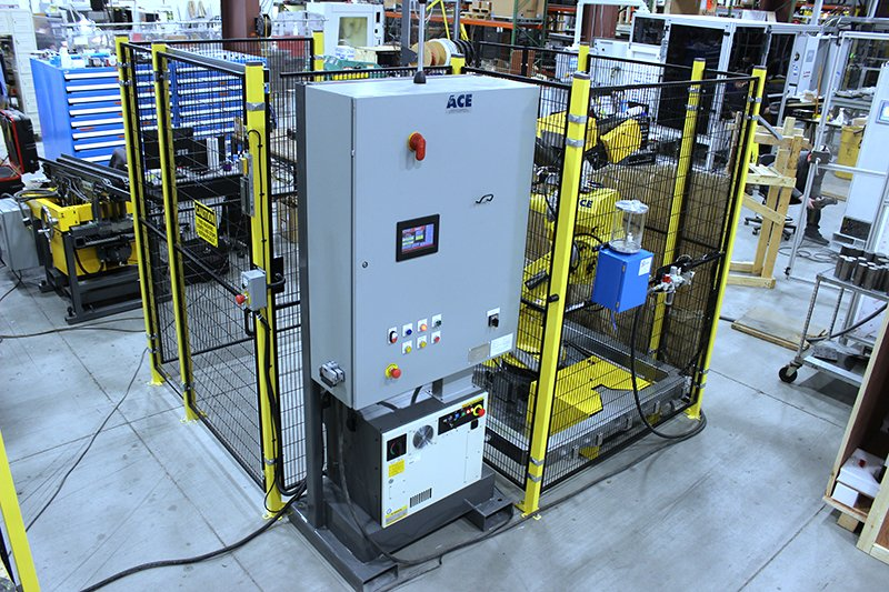 FANUC Forging automation cell