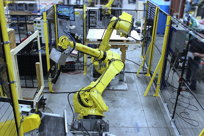 FANUC M20iB Forging Robot Integration